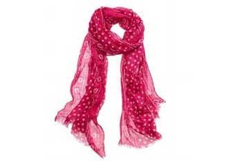 Pink dot scarf, $19.50, AmericanEagle.com