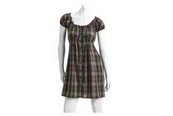 Button down dress, $10, Walmart.com
