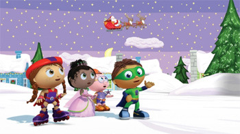Super WHY!: 'Twas the Night Before Christmas