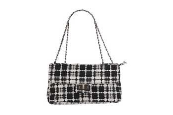 Tweed shoulder bag, $22.80, Forever21.com