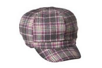 Mossimo plaid pink newsboy hat, $9.99, Target.com