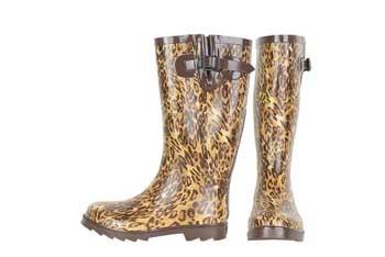 Leopard print rain boot, $49.90, Alloy.com