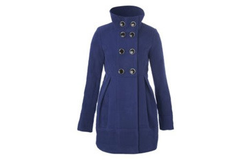 Tulip dolly coat, $40, NewLook.com