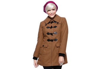 Quilted toggle coat, $42.80, Forever21.com