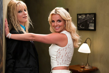 Heather Morris and Britney Spears
