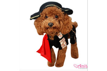 Matador dog costume, $24.95, WalMart.com