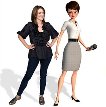 Tina Fey vs. Roxanne Ritchi