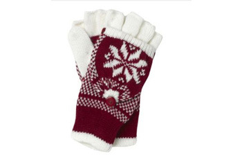 Fairisle flip gloves, NewLook.com, $9