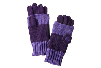 Cherokee honest purple fashion gloves, Target.com, $7.99