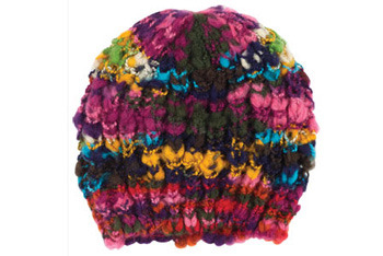Monique multi beanie, Delias.com, $14.50
