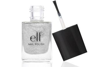 "e.l.f nail polish in ""Glitter Glam"", $1, EyesLipsFace.com"