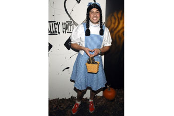 Jason Biggs as Dorothy from the Wizard of Oz