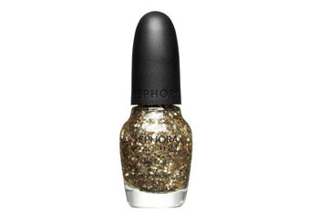 """Sephora nail polish in""""Only Gold for Me"""" topcoat, $9, Sephora.com"""
