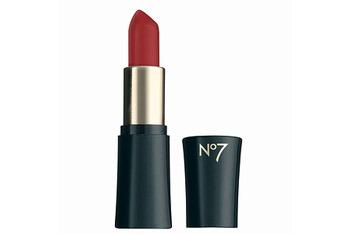 Boots No 7 Moisture Drench lipstick in Dare Devil, $7.49, Drugstore.com