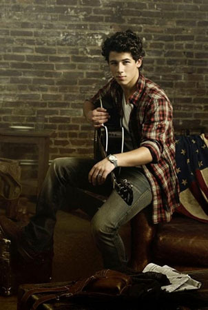 Nick and his guitar
