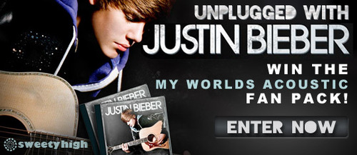 The Unplugged Justin Bieber Giveaway