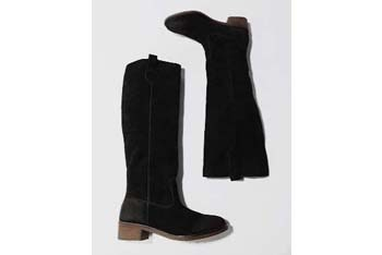 BDG tall suede pull on boots, $68, Urban Outfitters