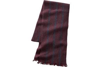 Striped fringe merino scarf, $24.50, Gap