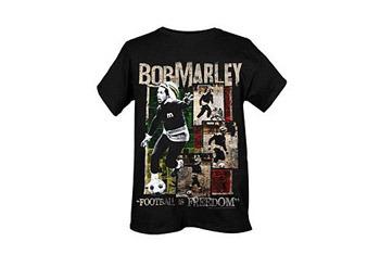 Bob Marley Football is Freedom t-shirt, $19.50, Hot Topic