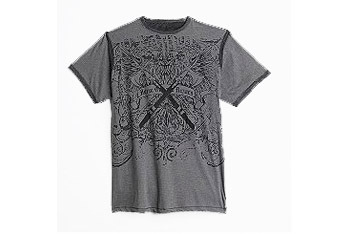 Route 66 Crossed Battle Axes t-shirt, $8, KMart