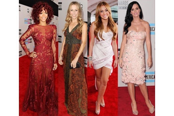 Fashion Police: American Music Awards 2010