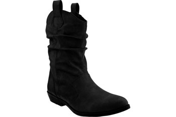 Slouch ankle cowboy boots, $39.50, at Old Navy