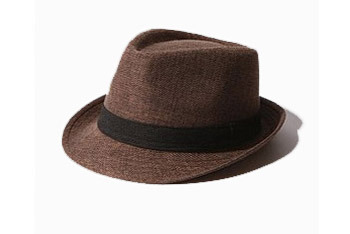 BDG Linen fedora hat, $24, at Urban Outfitters