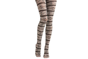 Snow Bunny tights, $34.99, ModCloth.com