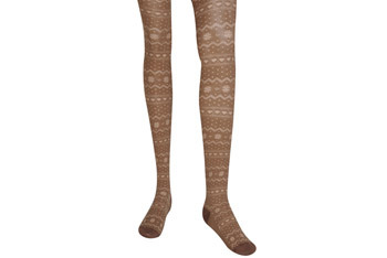 Snowflakes and hearts tights, $7.80, Forever21.com
