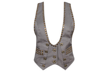 Rogue studded vest, $24.80, Forever21.com