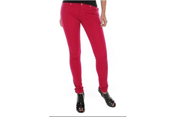 Tripp raspberry skinny jeans, $29, HotTopic.com