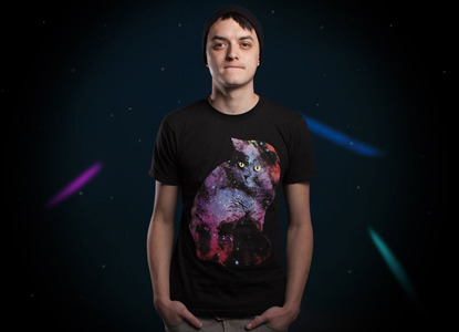 Celestial Cat tee-shirt, $12, at Threadless.com