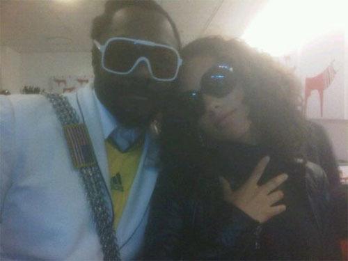 Will.i.am and Alicia Keys