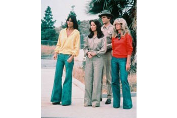 Classic 70s style: Charlie's Angels!