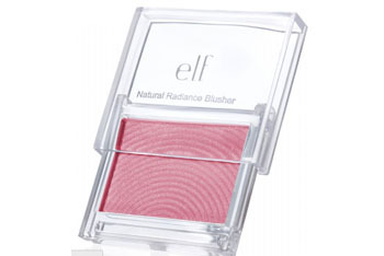 e.l.f. Natural Radiance Blusher in Flushed, $3, at eyeslipsface.co.uk
