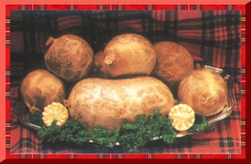 The national dish of Scotland is Haggis