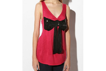 Sparkling Shelley tank, $50, at FredFlare.com