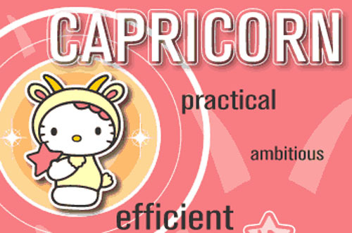 Happy Birthday Capricorn!