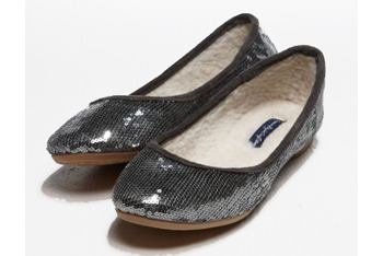 Sequin ballet flat, $29.50, at American Eagle