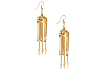 Whimsical wind chime earrings, $15.99, at ModCloth.com
