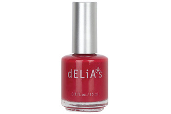 Cardinal Red nail polish, $3.50, at Delias.com
