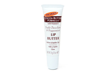 Palmer's Cocoa Butter Formula Lip Balm in Dark Chocolate and Peppermint, $2.39