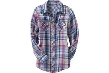 Plaid double-weave western tunic top, $19.99, at OldNavy.com