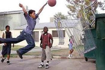 Ball and a Basket