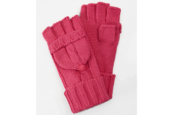 Knit fingerless mittens, $18, at FredFlare.com