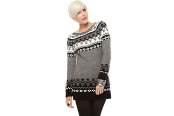 Chunky knit ski sweater, $29.80, at Forever21.com
