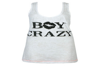 Forever 21 Boy Crazy Burn Out tank $12.80