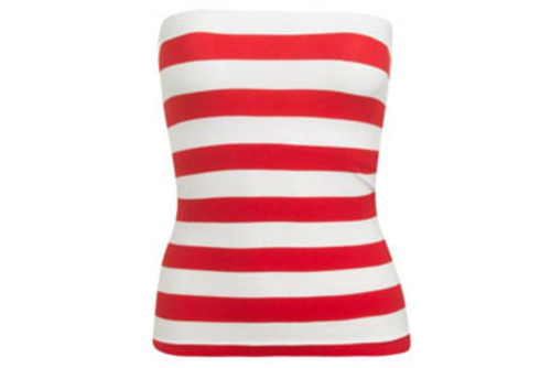 Wet Seal Striped Seamless tube top $6.50