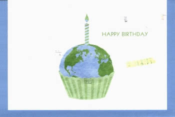 Earth Birthday Card