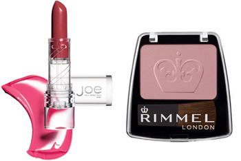 Joe Fresh lipstick and Rimmel Blush